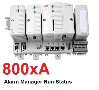 TechTalk - ABB 800xA : Alarm Manager Run Status