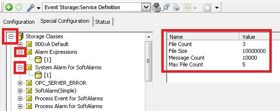 Xybernetics ABB 800xA - Event History File Size