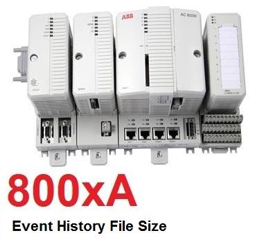 TechTalk - ABB 800xA : Event History File Size