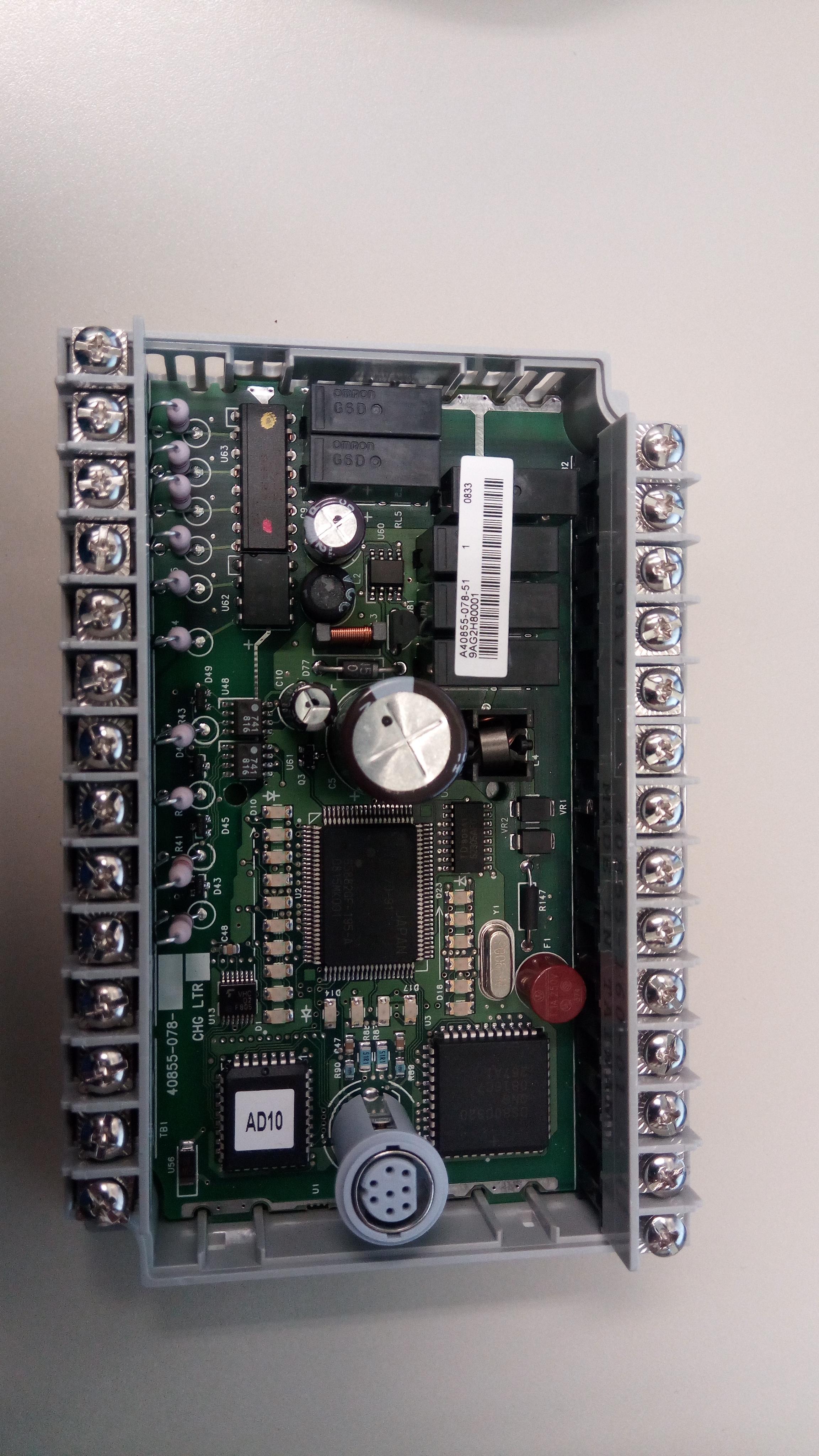 Xybernetics Allen-Bradley - MicroLogic What Does It Looks Like Inside