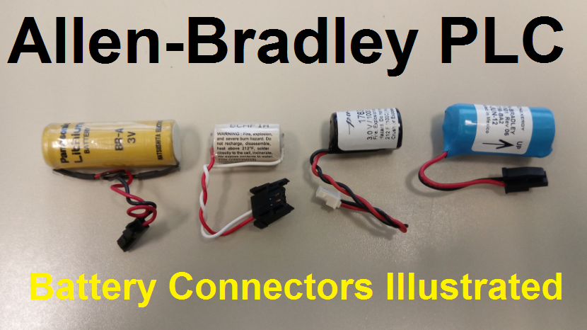 TechTalk - Allen-Bradley : PLC Battery Connectors