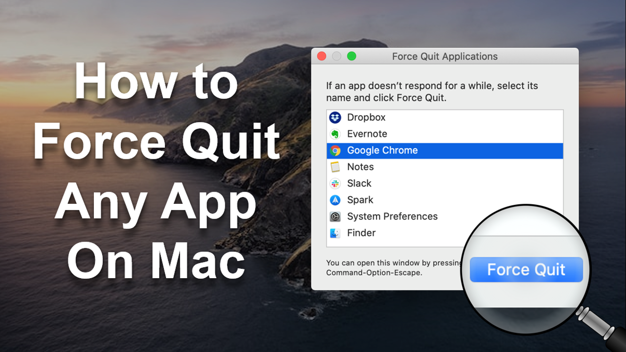 How to Force Quit Any App on Mac
