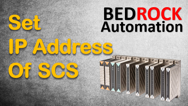 Techtalk - Bedrock Automation : Determine IP Address Of CC