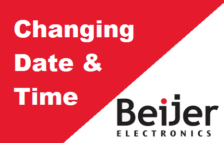 TechTalk - Beijer QTERM : Change System Date And Time