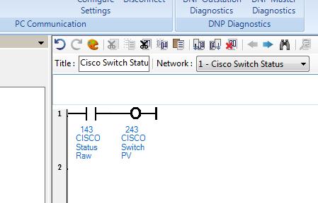 Xybernetics CISCO Switch - Relay Switch Health Status To Control System