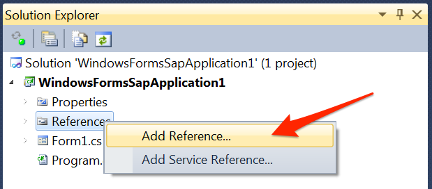 Xybernetics SAP Connector using C#