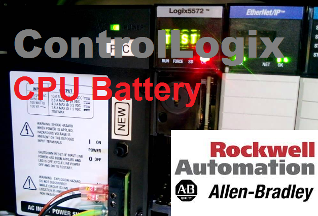 TechTalk - Allen-Bradley ControlLogix : Battery... Read This Before You Change Your PLC Battery
