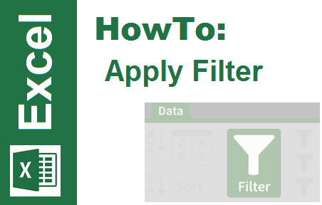 TechTalk - Excel : How To Apply Filter
