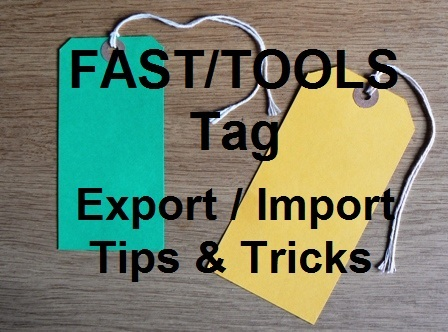 Tech Talk : Yokogawa FAST/TOOLS - Export/Import Application