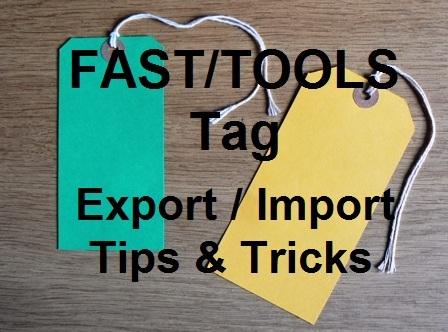 Tech Talk : Yokogawa FAST/TOOLS - Export/Import Application