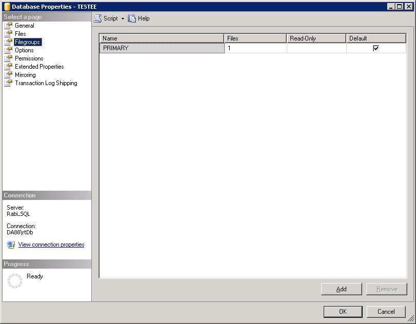 Xybernetics FactoryLink DBLog, Database and Troubleshooting