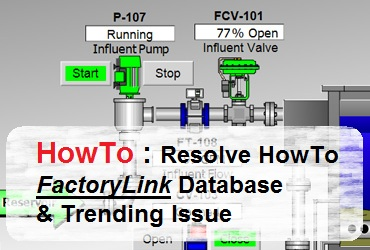Troubleshooting FactoryLink DBLog and Database Not Logging Issue