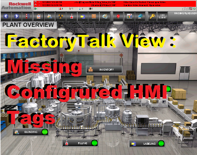 TechTalk - FactoryTalk View ME : Opening Tag Browser & None Of The Configured HMI Tags Are Present