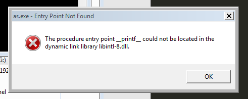 Xybernetics How to Fix The Procedure entry Point Could not be located in dynamic link library error