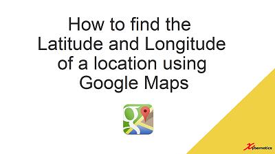 TechTalk - Google Maps 2019 : HowTo Get Latitude And Longitude