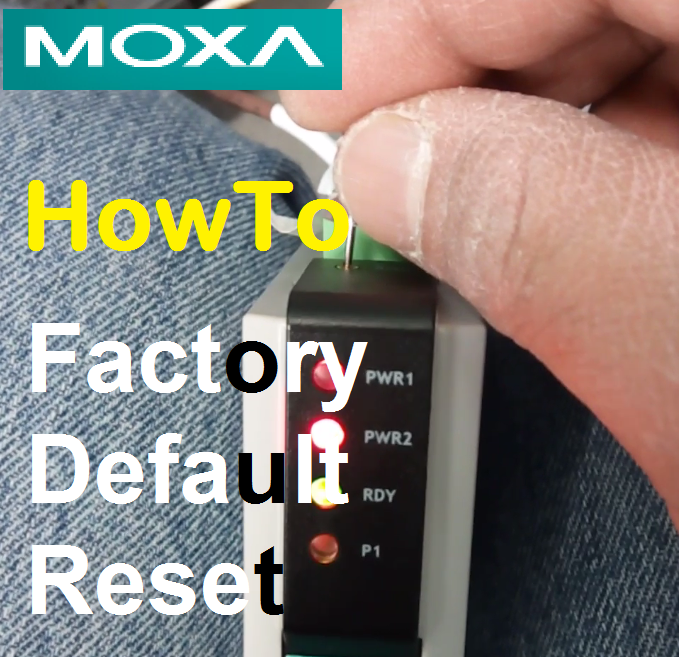 TechTalk - Moxa MB3170 : Factory Default Setting