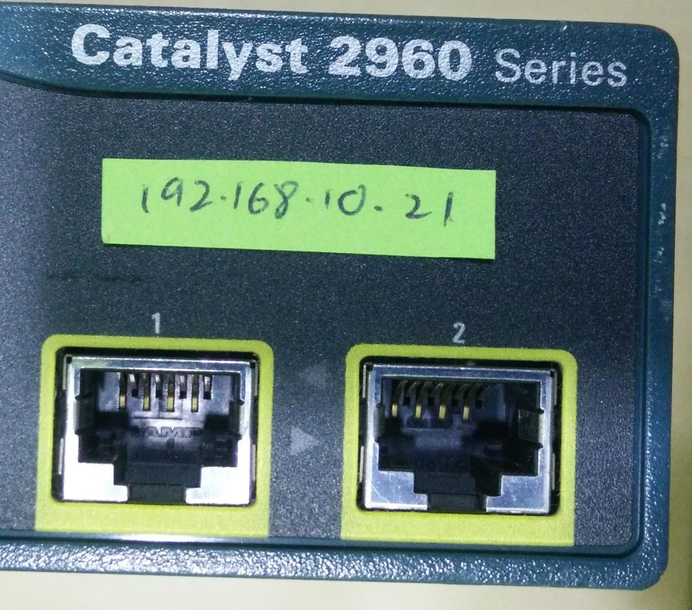 Techtalk What Is An Uplink Port Xybenertics Necessary Should Be Connected To Cisco Catalyst 2960 Series Switch