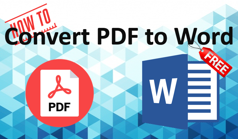 TechTalk - How To Convert PDF to Word without software