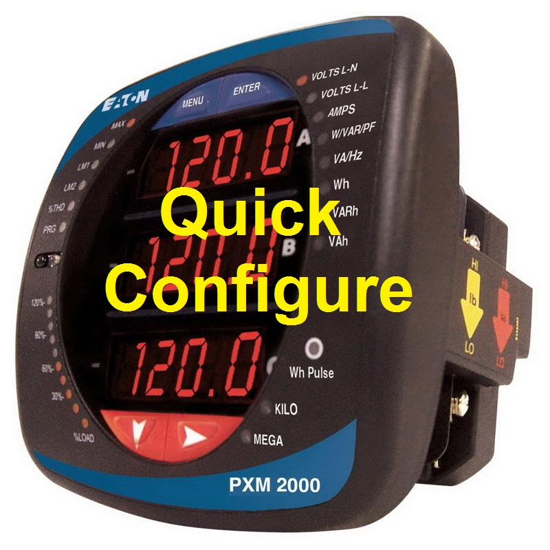 TechTalk - PMX2000 : How-To Configure Power Meter Quick Setup & Options Available