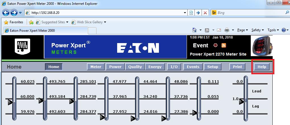 Xybernetics Eaton PMX2000 - HowTo - Determine Modbus Registers