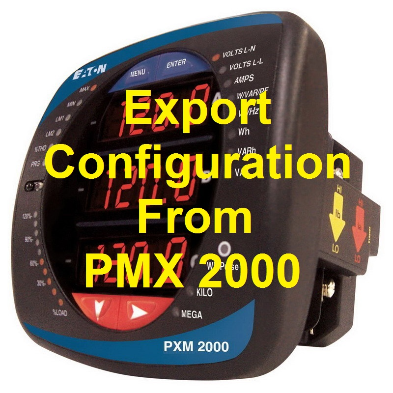 TechTalk - PMX2000 : How-To Export Config File From PMX 2000
