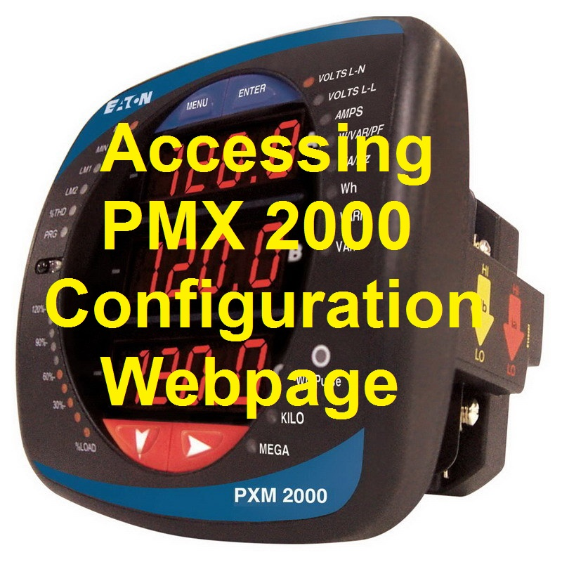 TechTalk - PMX2000 : Setting Up Webpage Access