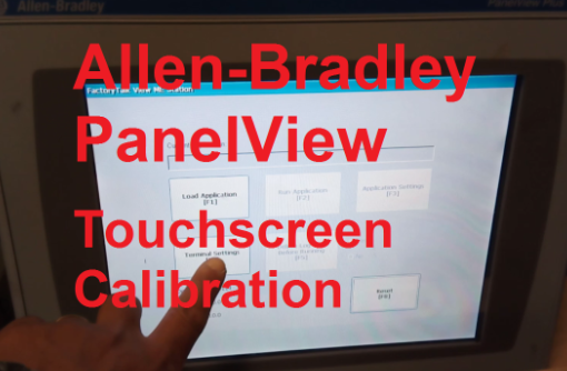 TechTalk - PanelView : Touchscreen Calibration