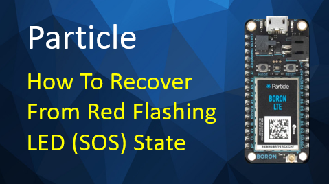 TechTalk - Particle : Red Flashing LED (SOS)