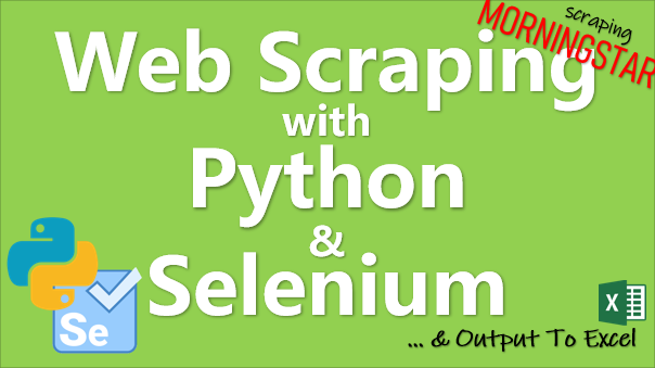 TechTalk - Python : Web Scrapping Using Selenium