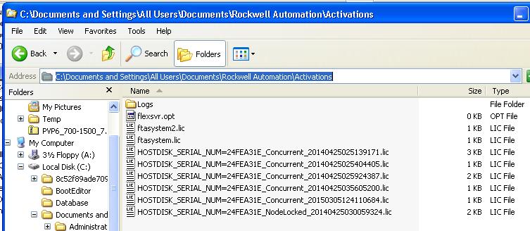 Xybernetics RSLogix - Activation Files