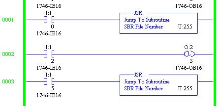 TechTalk - RSLogix5 : JSR Program File Number