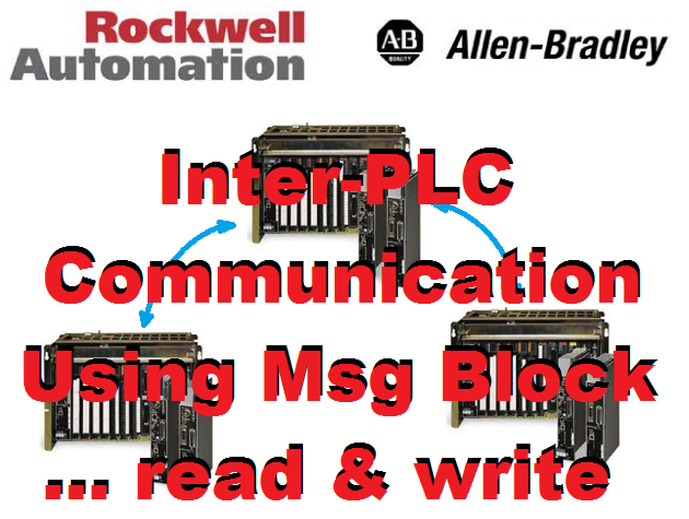 TechTalk - Rockwell RSLogix5 : Inter-PLC Communication - MSG Function Block Read From Multiple PLC And Write
