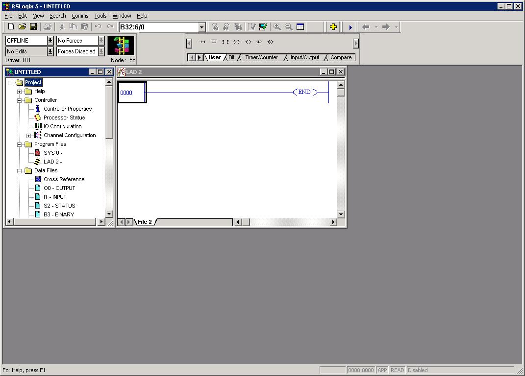 Xybernetics RSLogix 5 - Resize Working Area