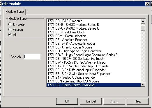 Xybernetics Rockwell RSLogix 5 - Setting Up IO Card