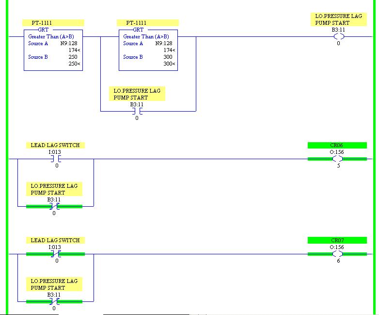 Xybernetics Rockwell RSLogix 5 - Simplified Lead Lag Logic Sample