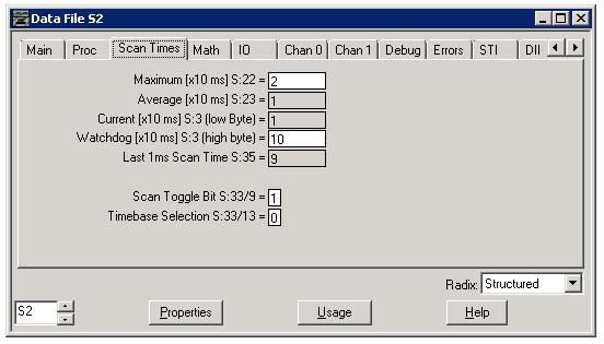 TechTalk : RSLogix 500 SLC Process Status File – Xybenertics