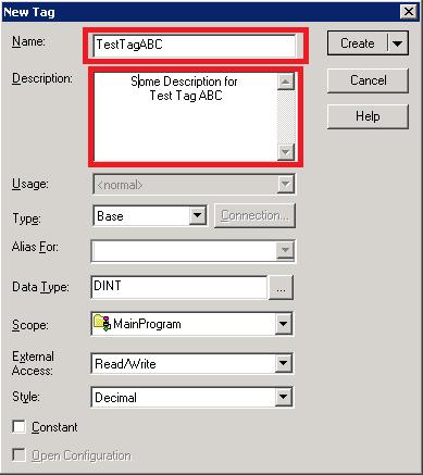 Xybernetics Allen-Bradley RSLogix5000 - Adding New Tag Online With PLC