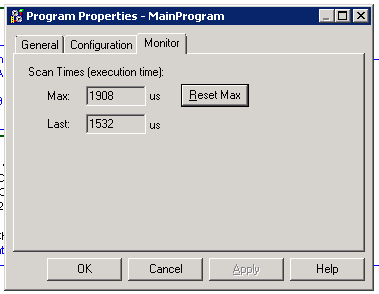 Xybernetics RSLogix 5000 : Scan Times Of A Task