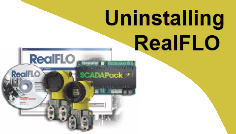 TechTalk - RealFLO : Uninstalling RealFlo