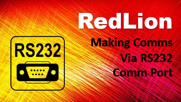 Connect A RedLion Modbus RTU Slave To Modbus RTU Master