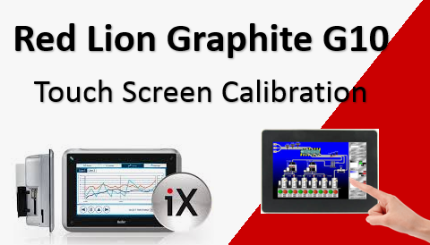 TechTak Red Lion Graphite G10 : Touch Screen Calibration