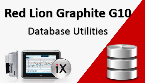 TechTalk - Red Lion Graphite G10 : Database Utilities
