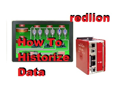 TechTalk - Redlion : How To Historize Data And Trend It