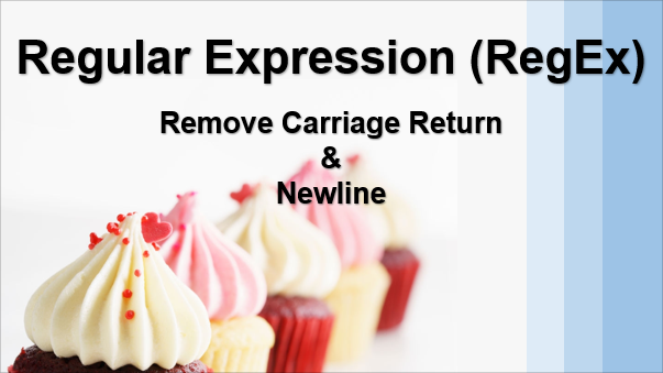 TechTalk - Regular Expression : Regular Expression Using Sublime Tip 02 (Remove Carriage Return And Newline)