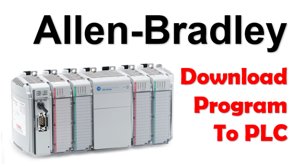 Download Program To Allen-Bradley CompactLogix From Laptop