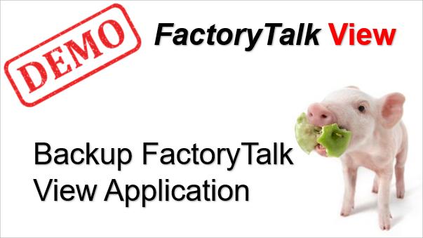 TechTalk - Rockwell : FactoryTalk View Backup Application