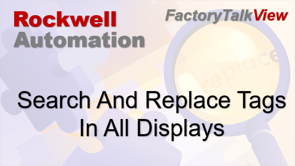 TechTalk - Rockwell : FactoryTalk View Find Tags Cross Reference
