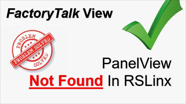 TechTalk - Rockwell : PanelView Not In Device List