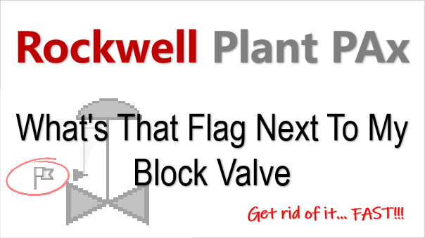 Rockwell PlantPAx P_AOut Normal Program Or Operator Flag