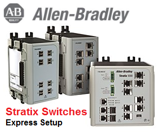 TechTalk - Allen-Bradley Stratix 8000 : Putting To Factory Setting And Express Setup